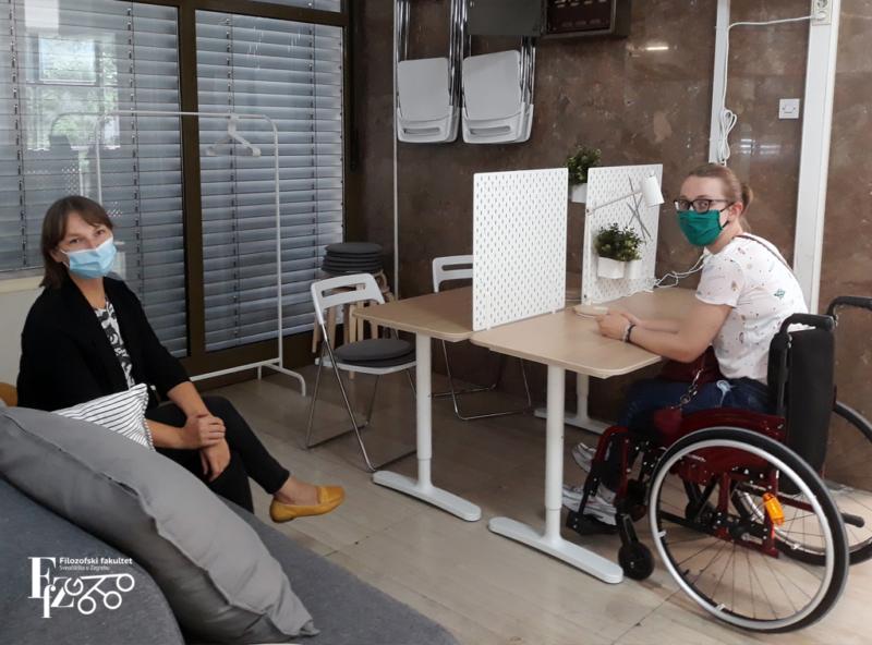 IKEA opremila dnevni boravak za studente s invaliditetom FFZG-a