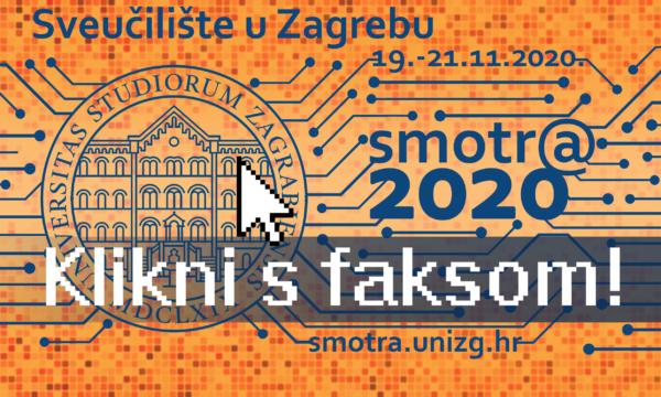 Smotra Sveučilišta u Zagrebu 2020. - plakat