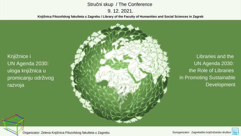 Stručni skup - Knjižnice i UN Agenda 2030: uloga knjižnica u promicanju održivog razvoja