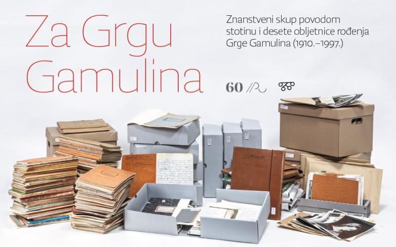 Za Grgu Gamulina: znanstveni skup povodom stotinu i desete obljetnice rođenja Grge Gamulina (1910.-1997.)